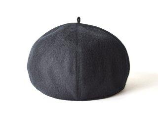 wool beret / BLACK