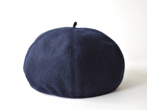wool beret / NAVY