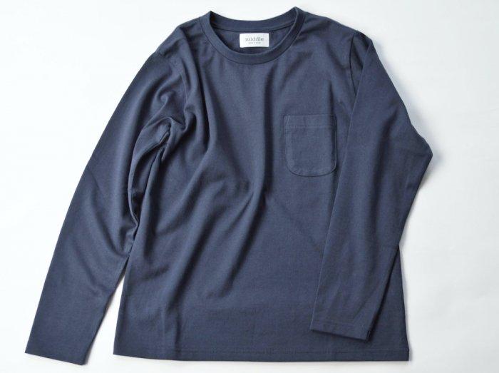 standard poc long sleeve t-shirt /  CHARCOAL GREY