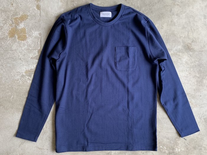 standard poc long sleeve t-shirt /  NAVY