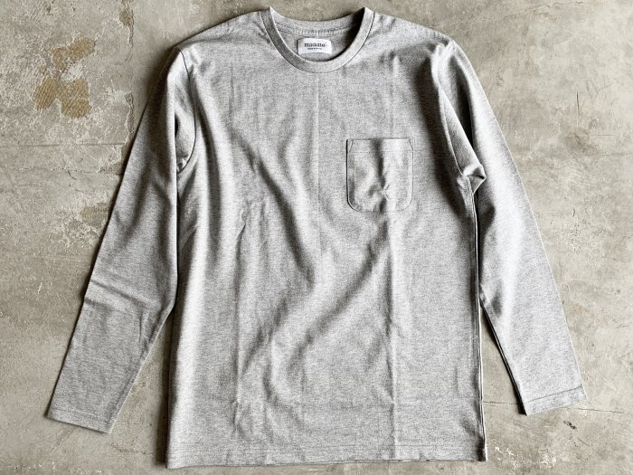 standard poc long sleeve t-shirt /  GREY