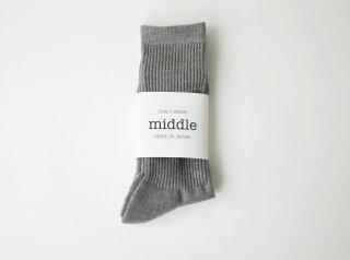 crew socks / GREY