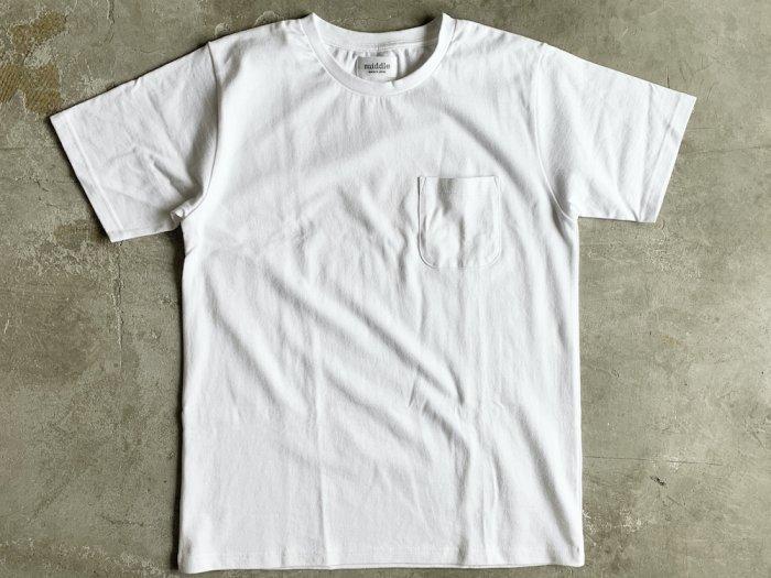 standard poc t-shirt / WHITE