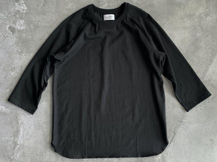 baseball t-shirt /  BLACK