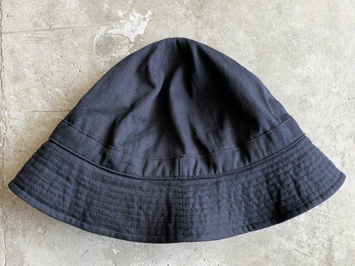 cotton twill hat / NAVY