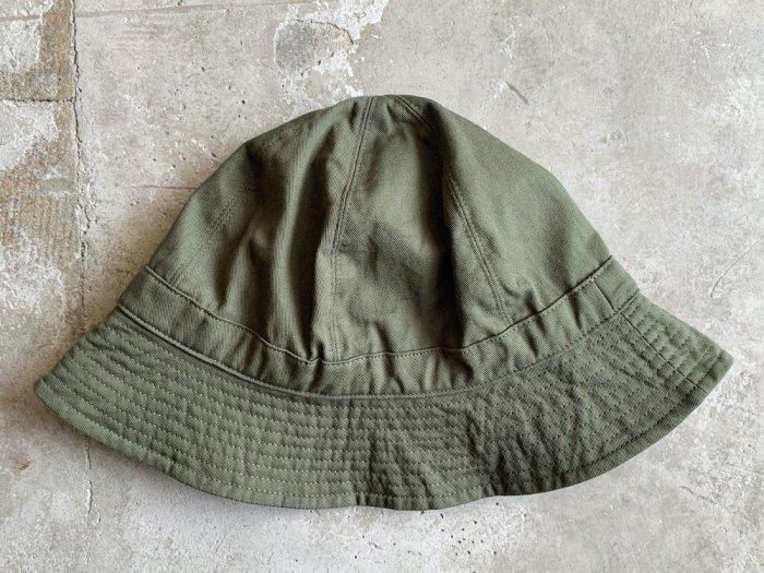 cotton twill hat / OLIVE