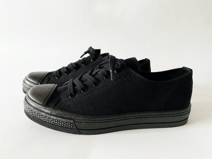 ASAHI 502 LOW-CUT SNEAKERS / BLACK