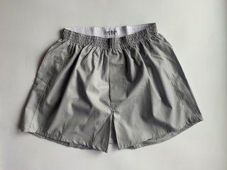 cotton boxer shorts / GREY