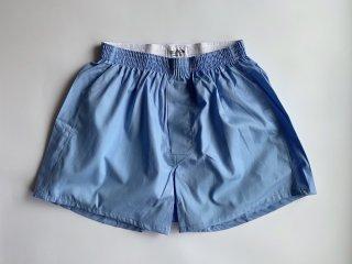cotton boxer shorts / SAX