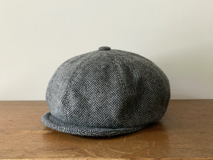 tweed casquette / GREY