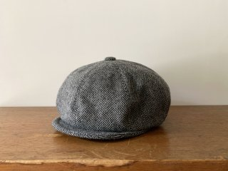 kid's tweed casquette / GREY