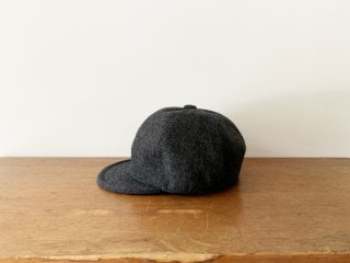 kid's wool bb cap /GREY