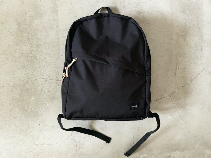 nylon daypack / BLACK