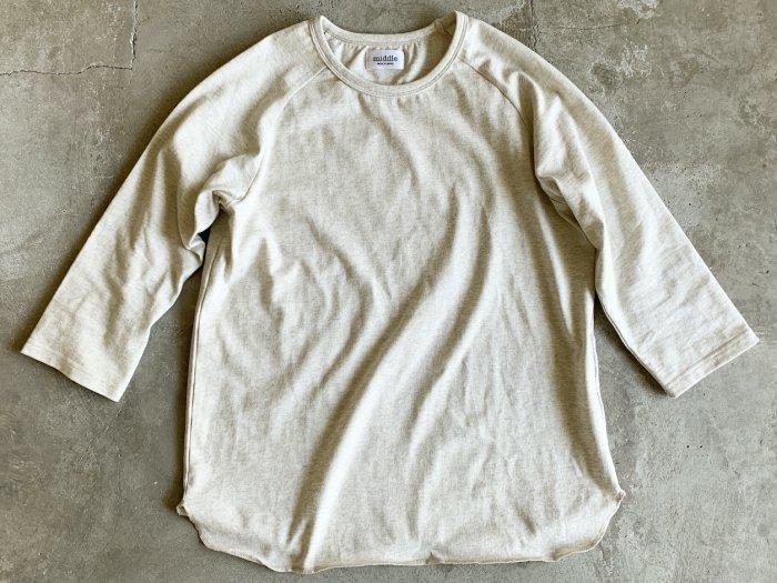 baseball t-shirt /  IVORY