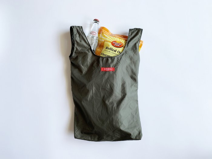 reusable shopping bag / OLIVE