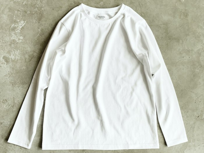 <img class='new_mark_img1' src='https://img.shop-pro.jp/img/new/icons56.gif' style='border:none;display:inline;margin:0px;padding:0px;width:auto;' />standard long sleeve t-shirt / WHITE