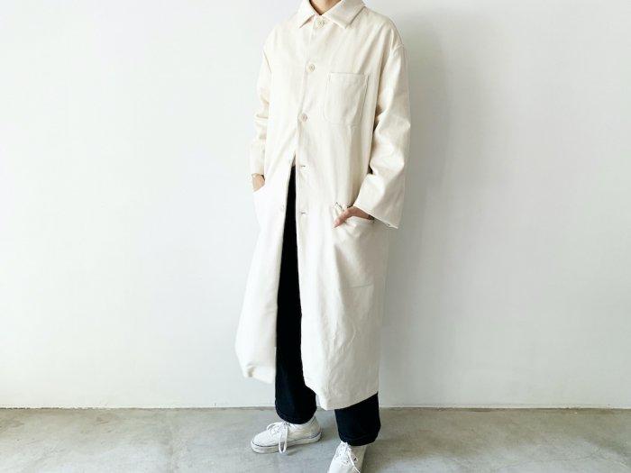 drill overcoat / NATURAL