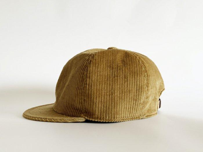 corduroy bb cap / BEIGE