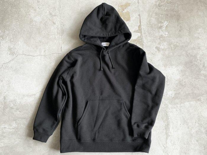 sweat hoodie / BLACK