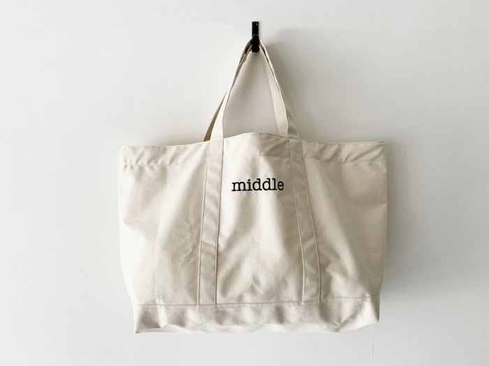 everyday lightweight canvas tote / NATURAL