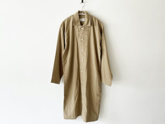 <img class='new_mark_img1' src='https://img.shop-pro.jp/img/new/icons8.gif' style='border:none;display:inline;margin:0px;padding:0px;width:auto;' />double gauze long pajamas / KHAKI