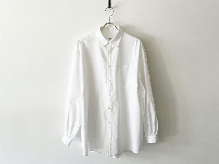 cotton atelier shirt /  WHITE