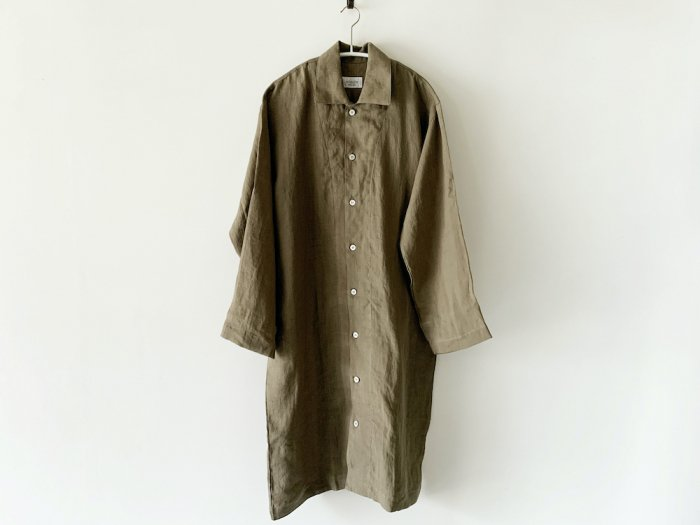 linen long pajamas (受注生産)