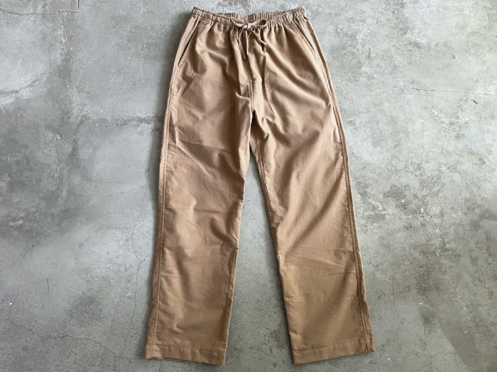 <img class='new_mark_img1' src='https://img.shop-pro.jp/img/new/icons8.gif' style='border:none;display:inline;margin:0px;padding:0px;width:auto;' />flannel easy pants / CAMEL