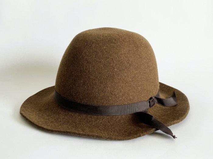<img class='new_mark_img1' src='https://img.shop-pro.jp/img/new/icons8.gif' style='border:none;display:inline;margin:0px;padding:0px;width:auto;' />wool crusher hat / KHAKI