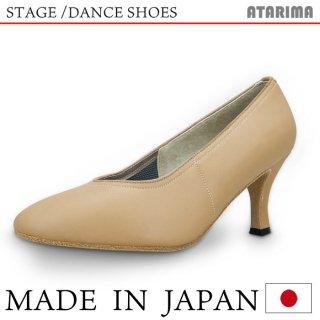 ステージシューズ ダンスシューズ 女性モダンシューズ【ベージュ】【日本製】【本革】【7.5cmヒール】【キャラクターシューズ、社交ダンス、舞台、ピアノ、演奏、合唱】【納期1〜2ヶ月】 <img class='new_mark_img2' src='https://img.shop-pro.jp/img/new/icons61.gif' style='border:none;display:inline;margin:0px;padding:0px;width:auto;' />