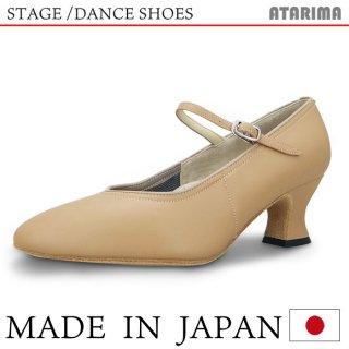 ステージシューズ ダンスシューズ 女性モダンシューズ【ベージュ】【日本製】【本革】【6cmラウンドヒール】【キャラクターシューズ、社交ダンス、舞台、ピアノ、演奏、合唱】【納期1〜2ヶ月】 <img class='new_mark_img2' src='https://img.shop-pro.jp/img/new/icons61.gif' style='border:none;display:inline;margin:0px;padding:0px;width:auto;' />
