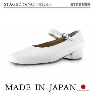ステージシューズ ダンスシューズ【日本製】【女性用】【白/ホワイト】【本革】【3.5cmヒール】【舞台、ピアノ、演奏、合唱】【納期1〜2ヶ月】<img class='new_mark_img2' src='https://img.shop-pro.jp/img/new/icons61.gif' style='border:none;display:inline;margin:0px;padding:0px;width:auto;' />