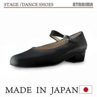 ステージシューズ ダンスシューズ【日本製】【女性用】【黒/ブラック】【本革】【3.5cmヒール】【舞台、ピアノ、演奏、合唱】【納期1〜2ヶ月】<img class='new_mark_img2' src='https://img.shop-pro.jp/img/new/icons61.gif' style='border:none;display:inline;margin:0px;padding:0px;width:auto;' />