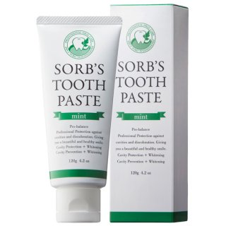 SORB'S TOOTH PASTE(歯みがき) 120g