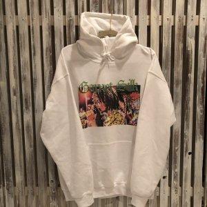 Garnet Silk hoodie(White)