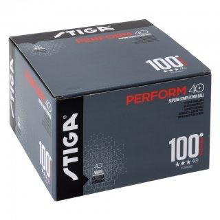 【STIGA】3スター パフォーム 40+ 100個入り (PERFORM 40+ 3STAR 100 PCS)