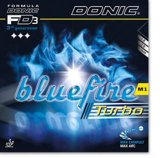 【DONIC】ブルーファイア M1 ターボ (BLUE FIRE M1 TURBO)