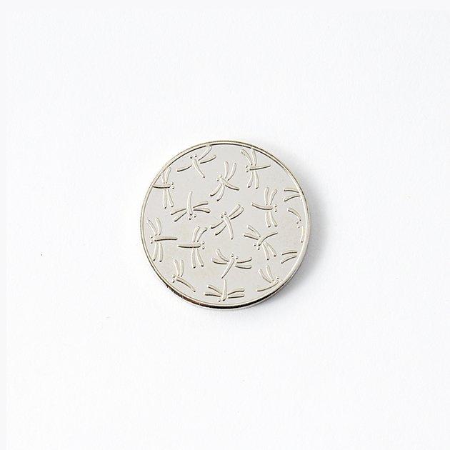 記念メダル トンボ柄 シルバー(オンラインショップ限定)