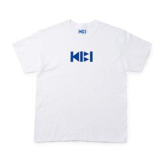 KIBI LOGO S/S TEE【WHITE】