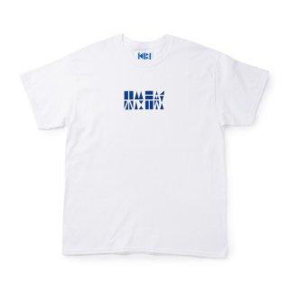 機微 LOGO S/S TEE【WHITE】