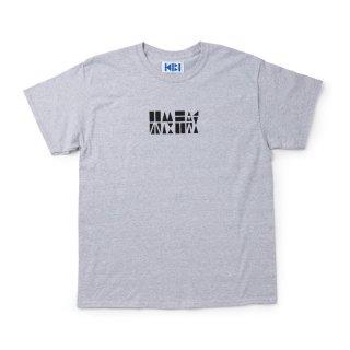 機微 LOGO S/S TEE【GRAY】