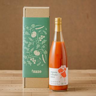 【化粧箱入り】有機トマトジュース 1本ギフト