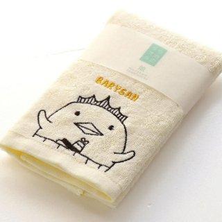 【1点だけならゆうパケット可】バリィさん刺繍フェイスタオル