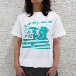 【在庫限り】バリT白 No.3(男女兼用) Tシャツ