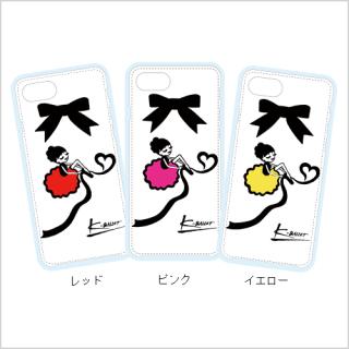 「キトちゃん」iPhoneクリアケース