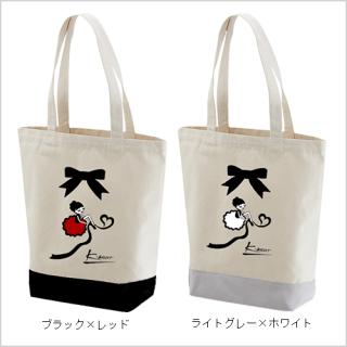 「キトちゃん」キャンバストートバッグ