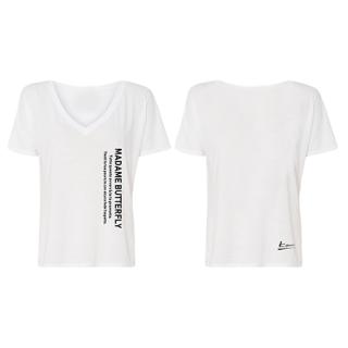『マダム・バタフライ』歌詞Tシャツ