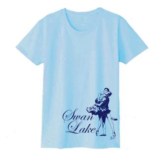 『白鳥の湖』オデット&王子 Tシャツ