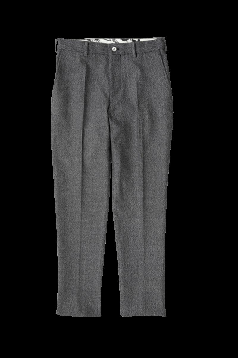 HARRINGBONE STRETCH PANTS
