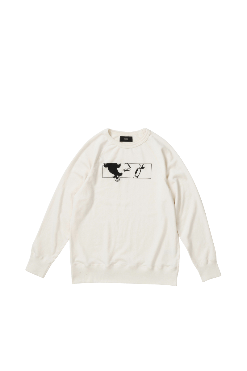 BETTY FACE CREWNECK SWEAT